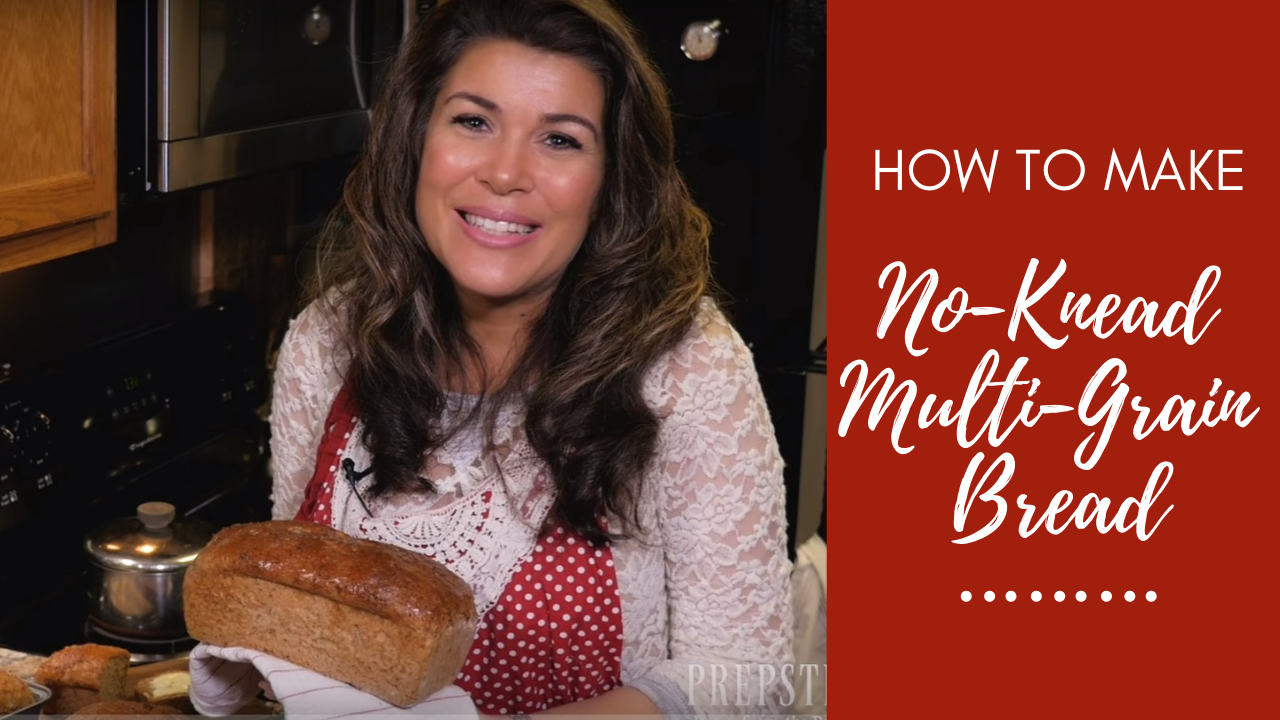 Delicious No-Knead Multi-Grain Bread