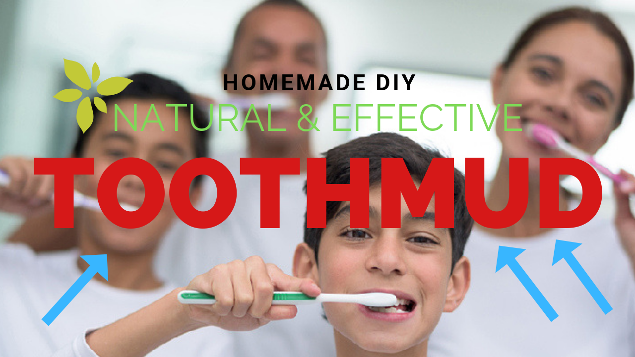 DIY HOMEMADE MINT TOOTHMUD